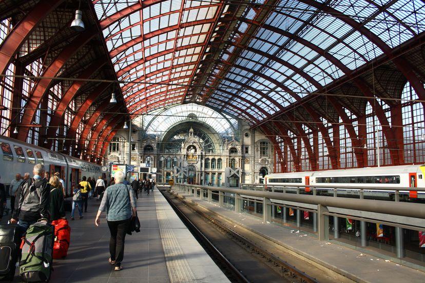 railway station Antwerpen