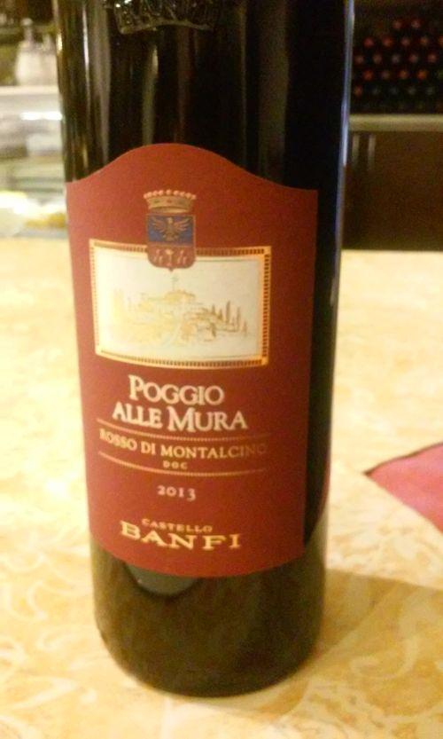 вино Rosso di Montalcino Poggio alle Mura Banfi