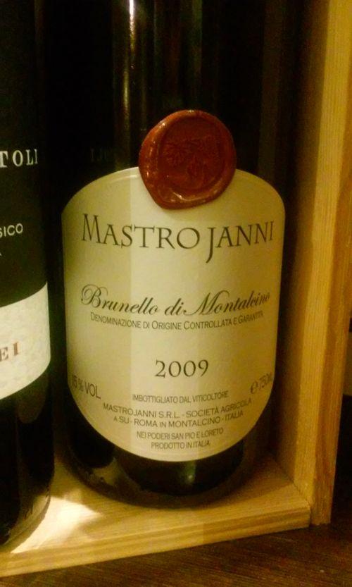 вино Brunello di Montalcino Mastrojanni 2009