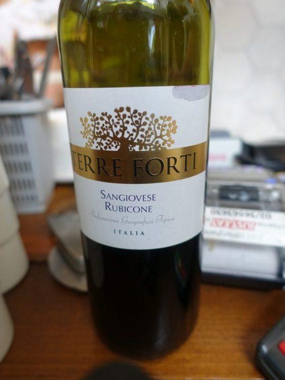 Вино Terre Forti Saungiovese Rubicone