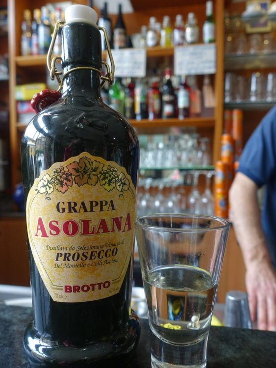 Grappa Asolana Prosecco