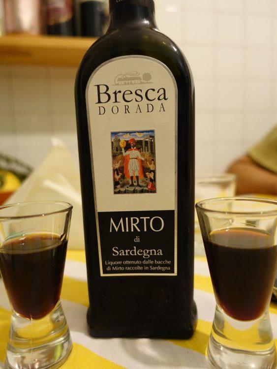 Ликер Mirto из Сардинии