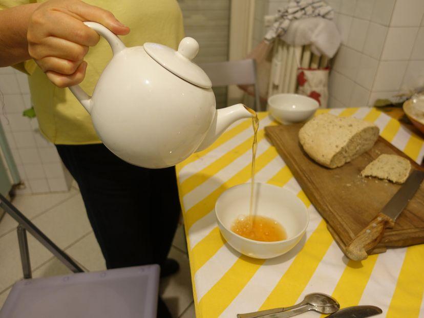 Чаепитие в Милане