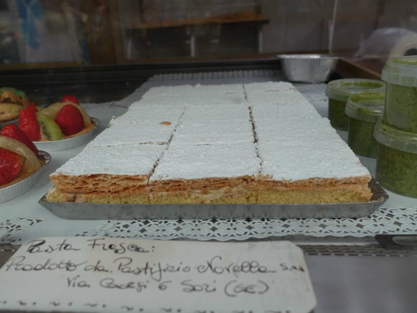 генуэзское пироженое