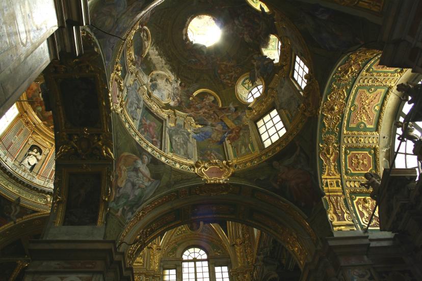 церковь Chiesa del Gesù e dei Santi Ambrogio e Andrea