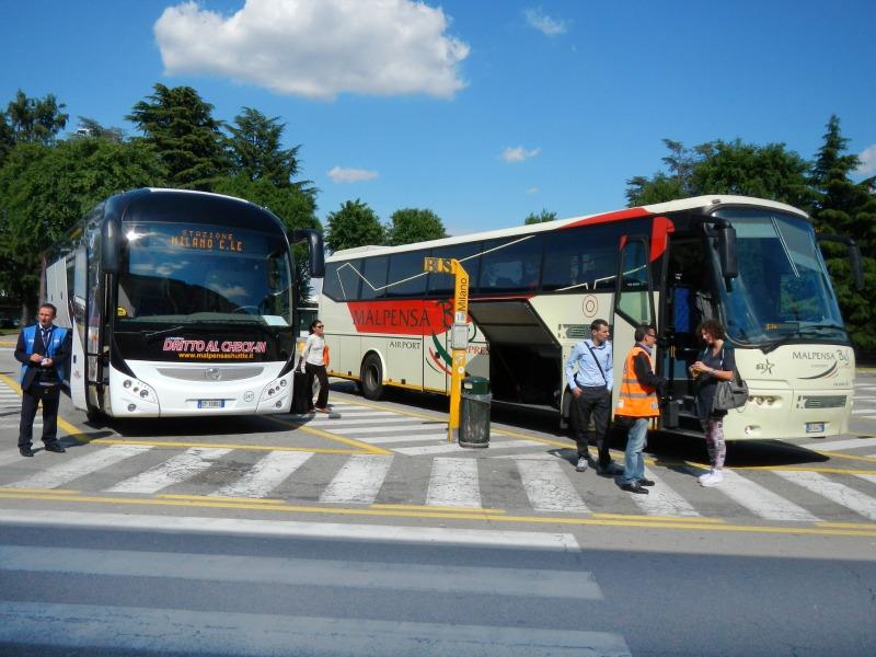 автобус в Милан