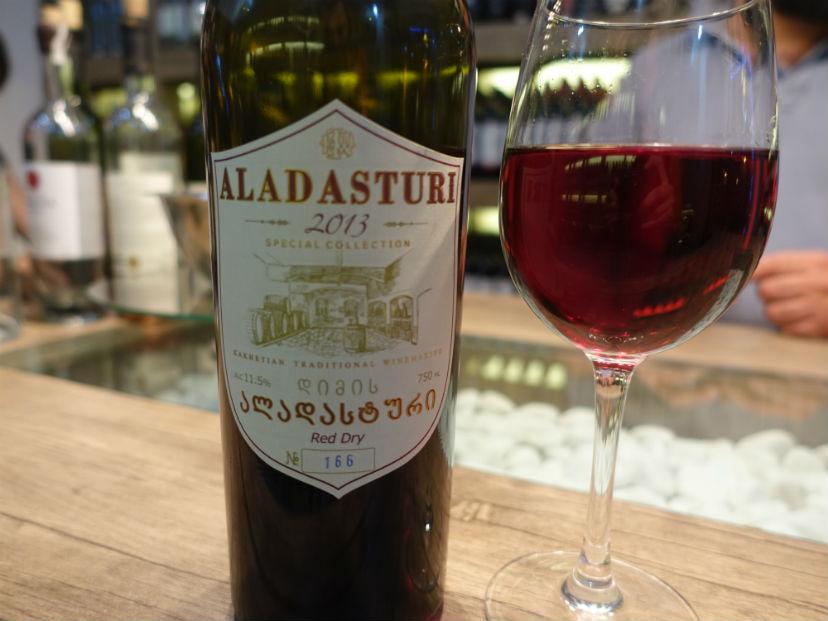 грузинское вино