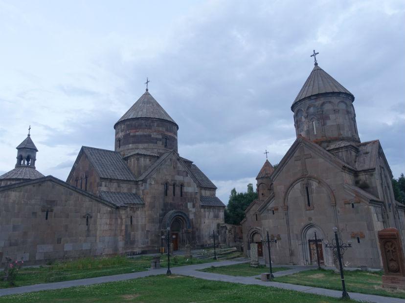 церковь в Цакхадзоре