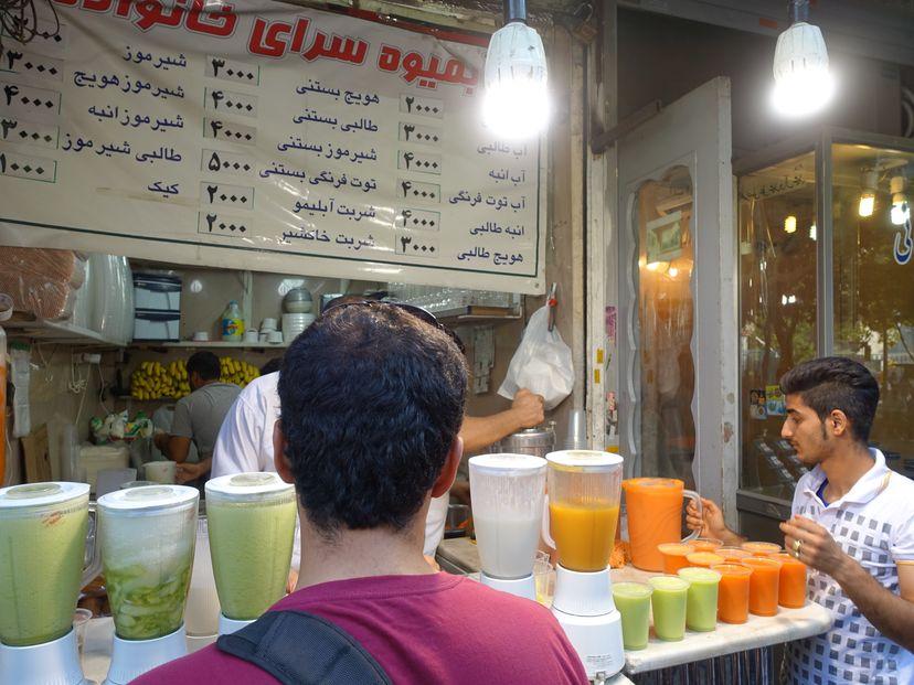 иранские фруктовые соки