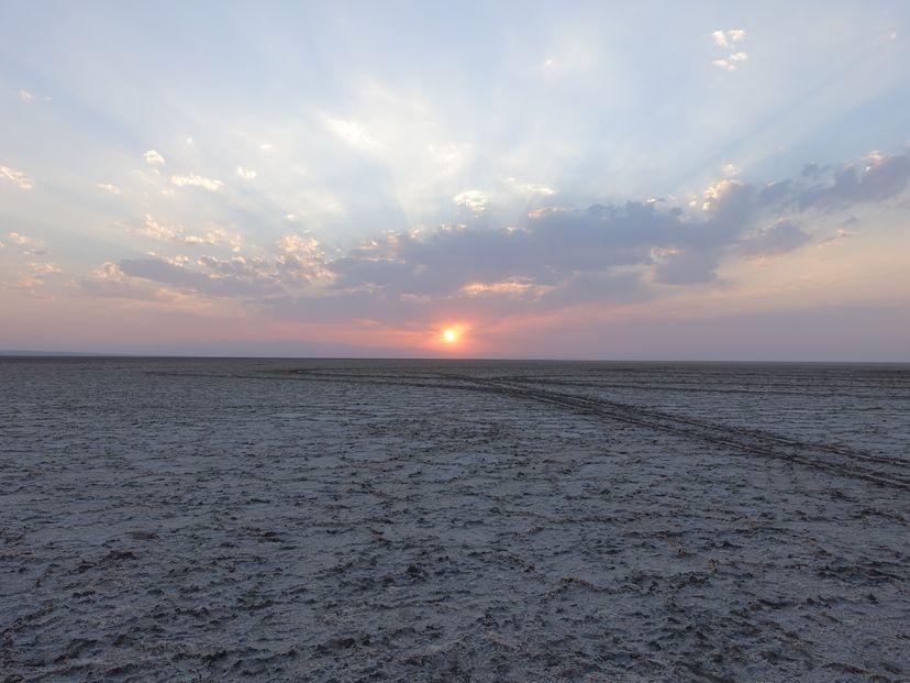 Соляное озеро Маранджаб