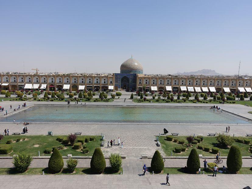 площадь Исхафана Иран