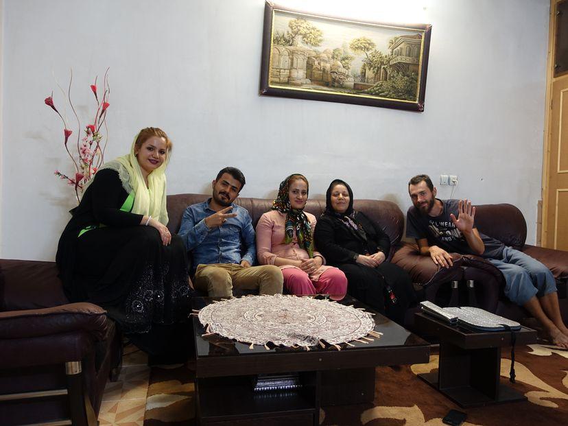иранская семья