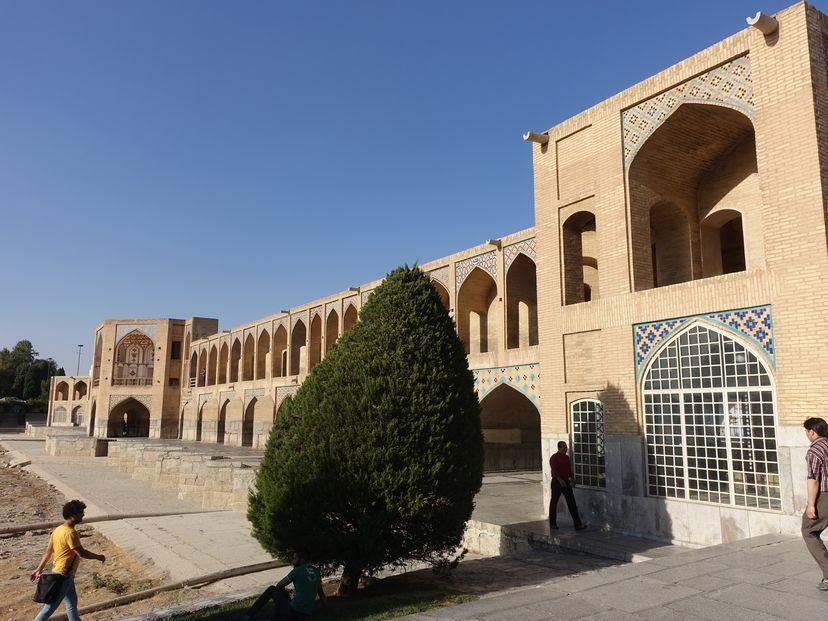 Мост Ходжу в Иран