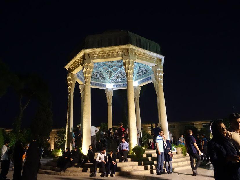 Мавзолей поэта Хафиза Ширази