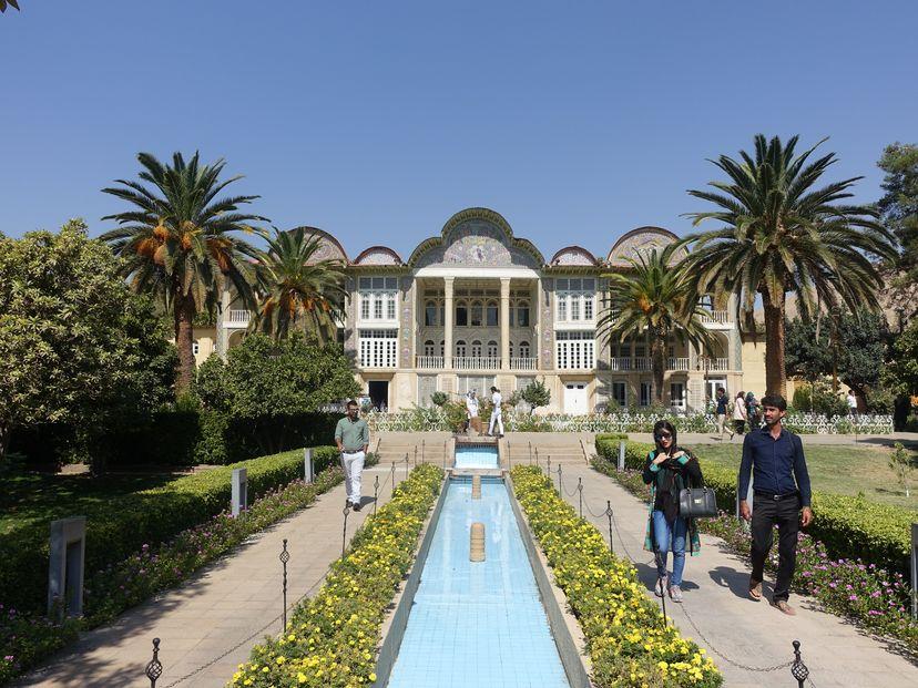 ботанический сад Эрам