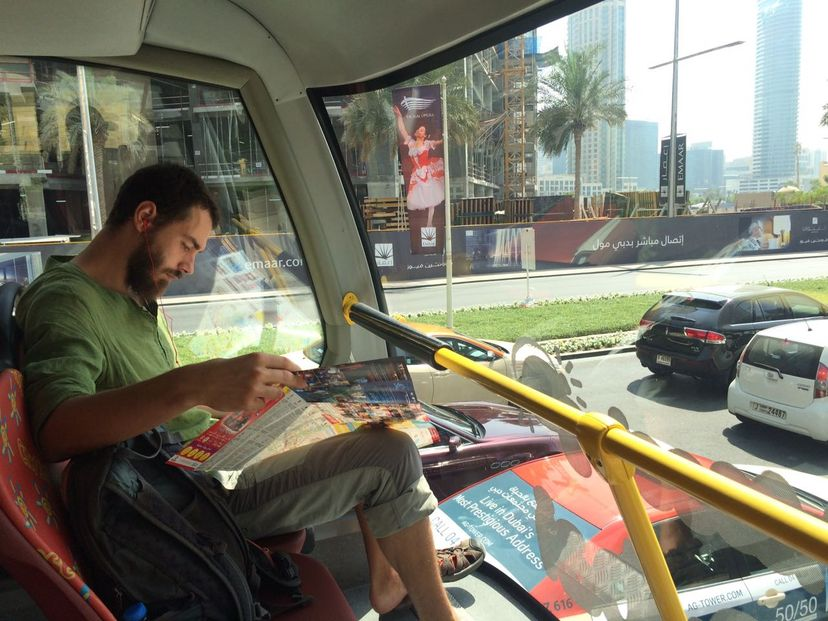 тур автобус в Дубае
