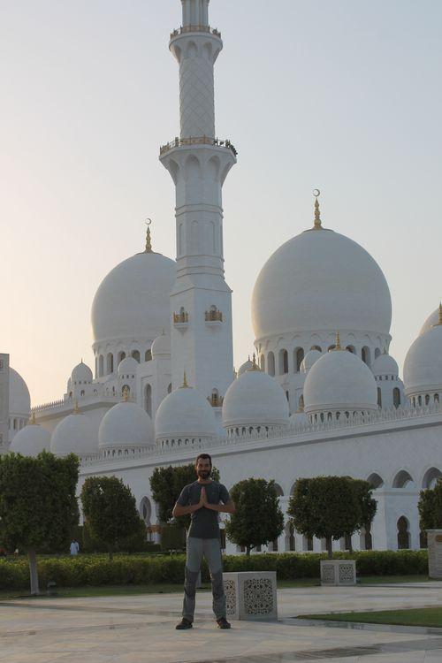 мечеть в Абу Даби