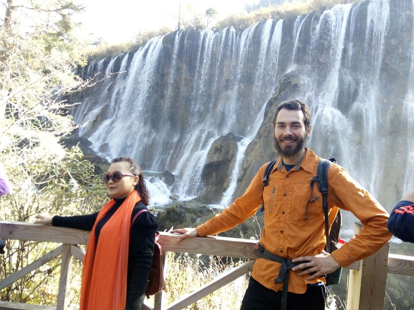 Цзичжайгоу водопад