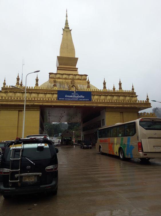 граница Лаоса и Китая