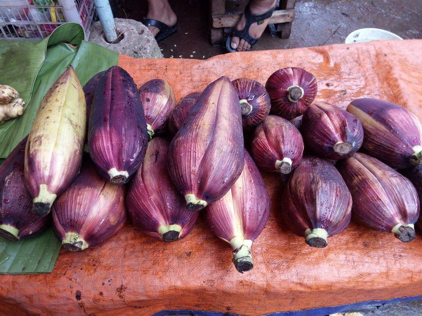 лаосские овощи