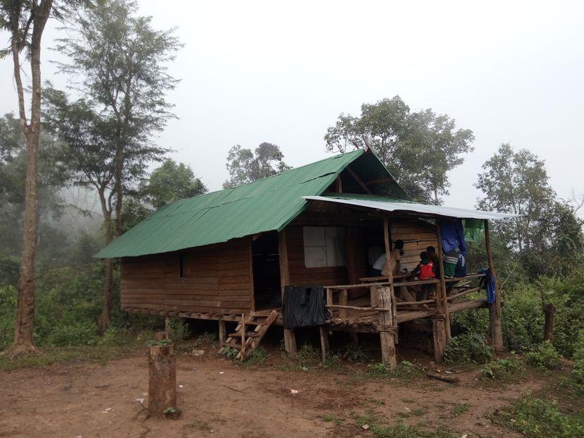 домик в Лаосе