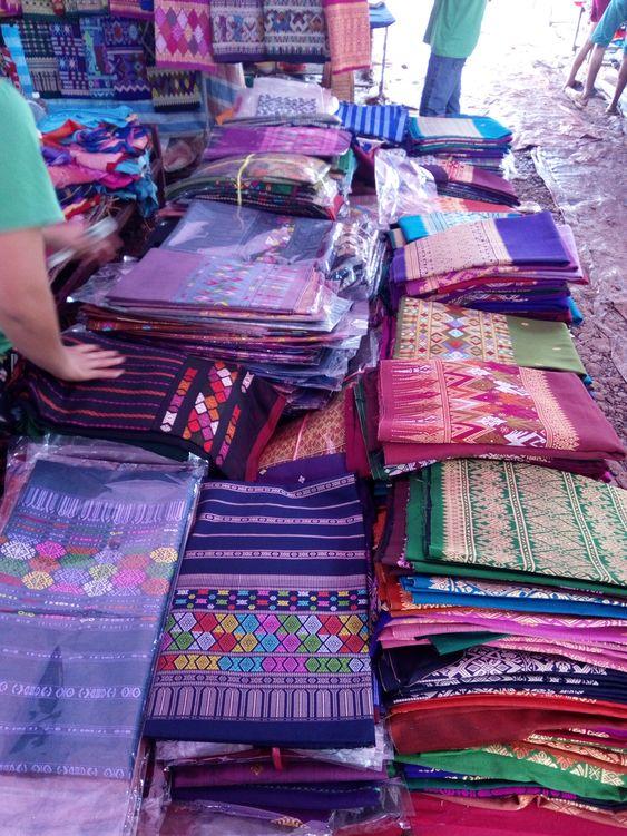 лаосский рынок
