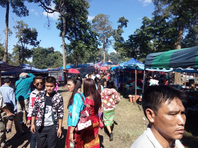 праздник в Лаосе