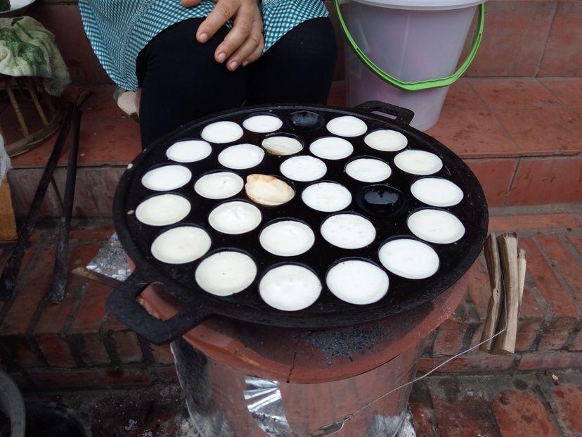 кокосовые шарики в Лаосе