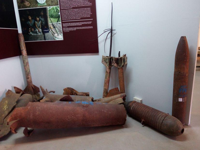 военный музей Лаос