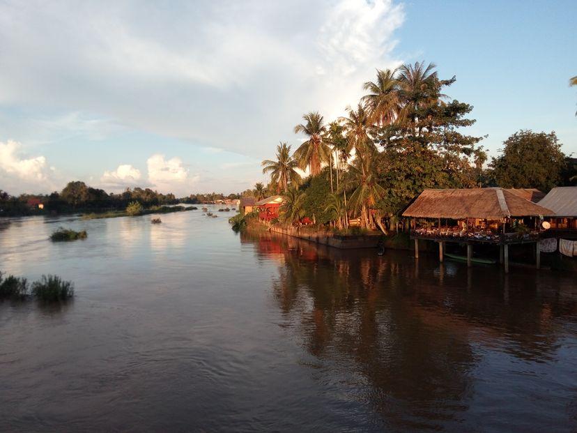 острова Меконг Лаос