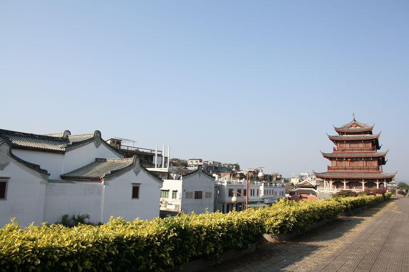 Городская стена Чаочжоу