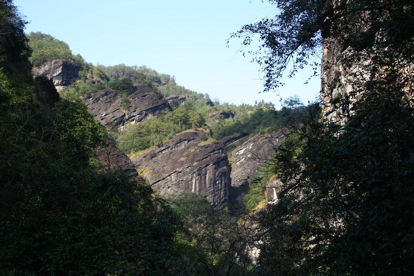 горы уишань