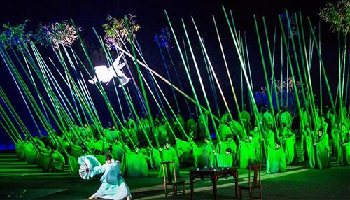 Шоу Да Хун Пао в Уишань