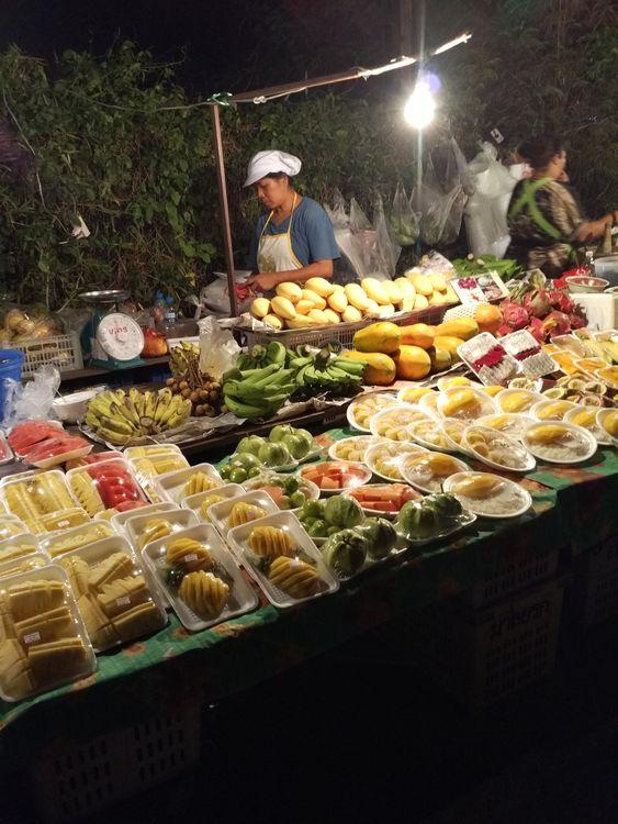 ночной рынок Ко Чанг