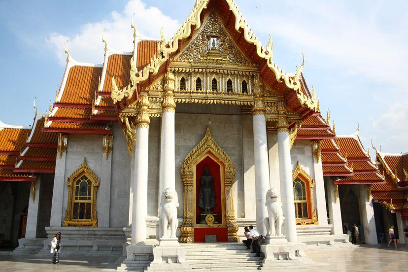мраморный храм бангкок