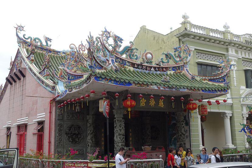 китайские храмы в Пенанге