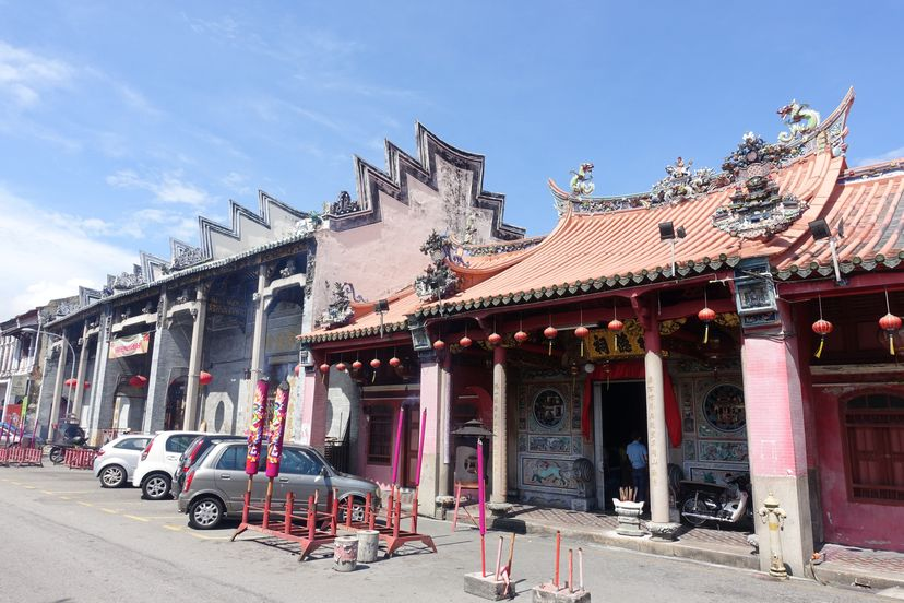 китайские храмы Пенанг