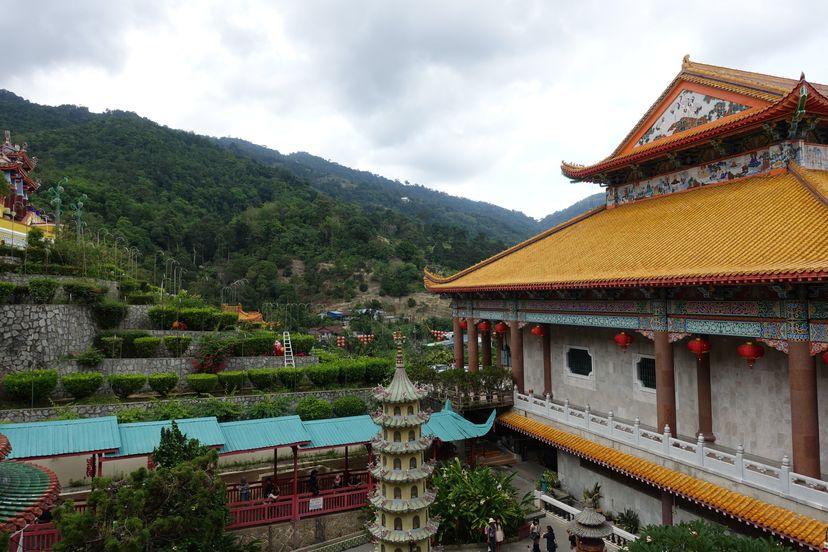 китайский храм пенанг