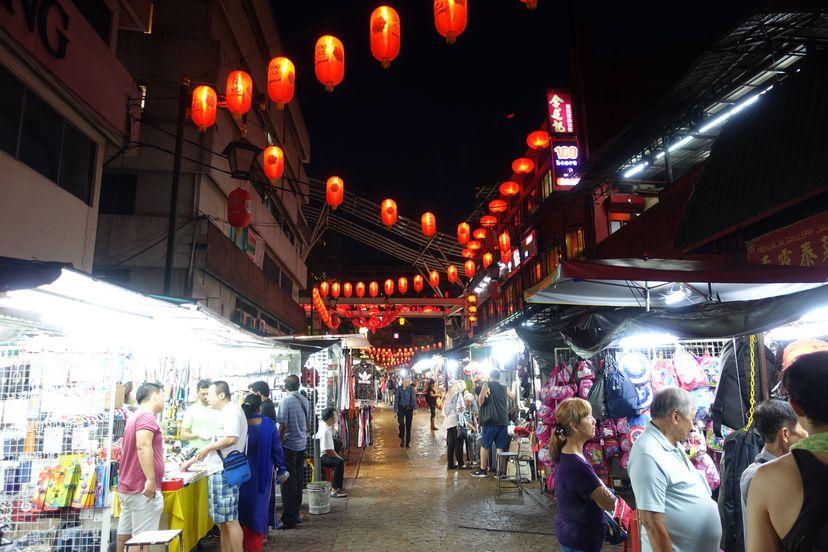 Китайский квартал Куала Лумпура