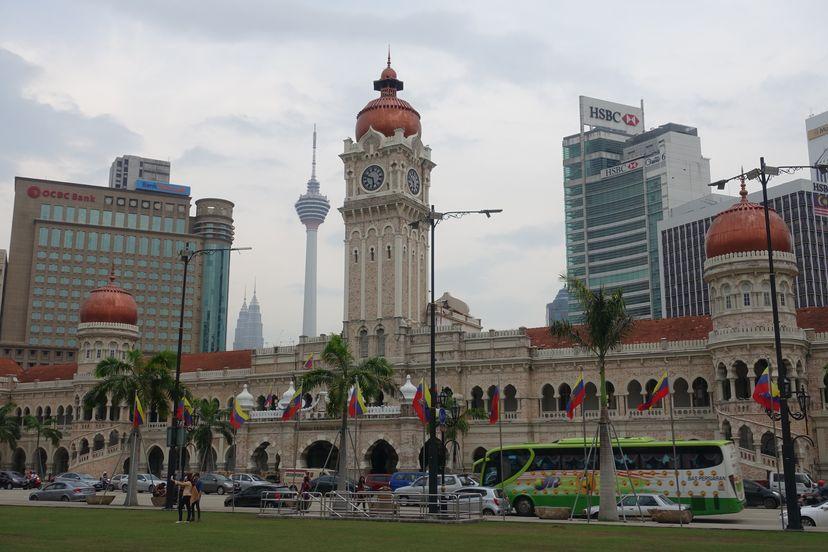 площадь Dataran Merdeka
