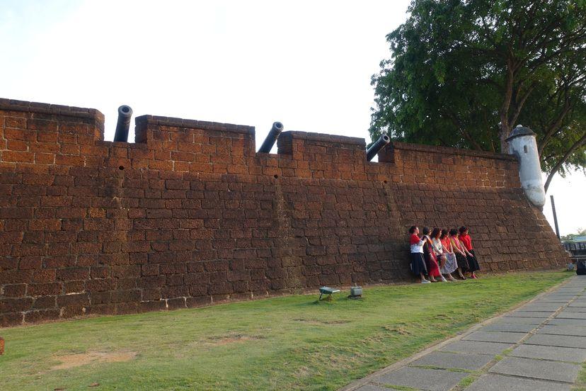португальская крепость Малакка Малайзия