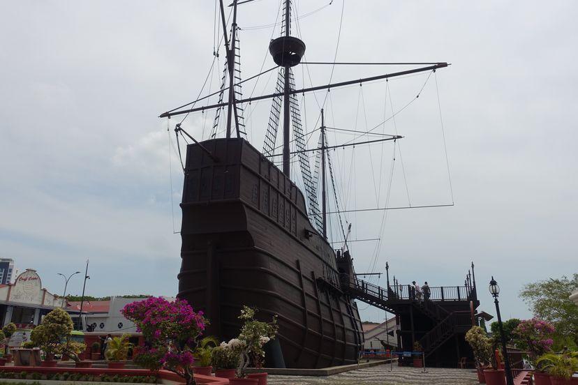 португальский корабль Малакка Малайзия