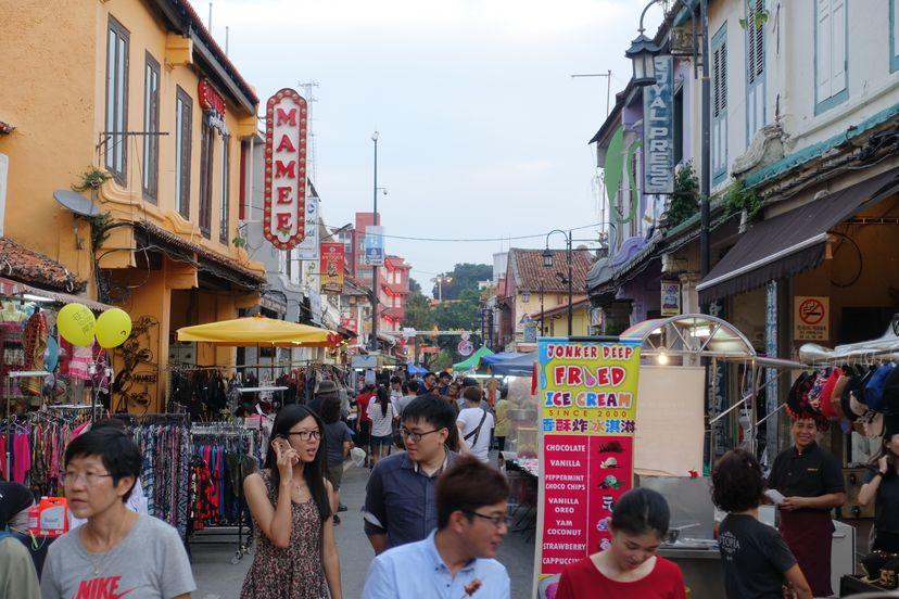 Джонкер стрит Малакка Малайзия