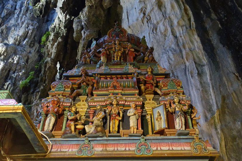 Пещера Бату в Куала Лумпуре