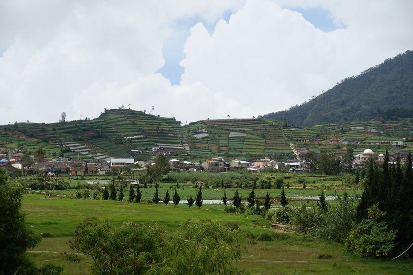 плато Диенг на Яве