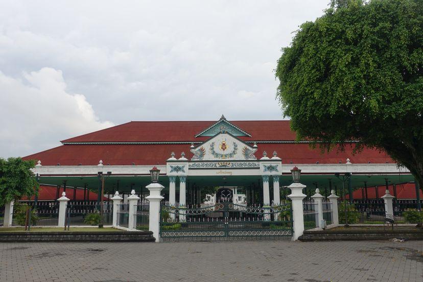 Кратон в Джокьякарта Индонезия
