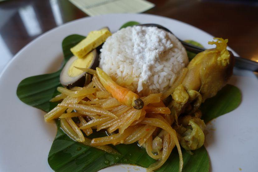 индонезийская еда в Соло
