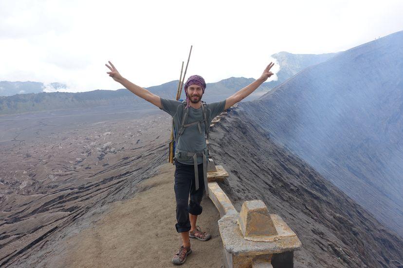 жерло вулкана Бромо