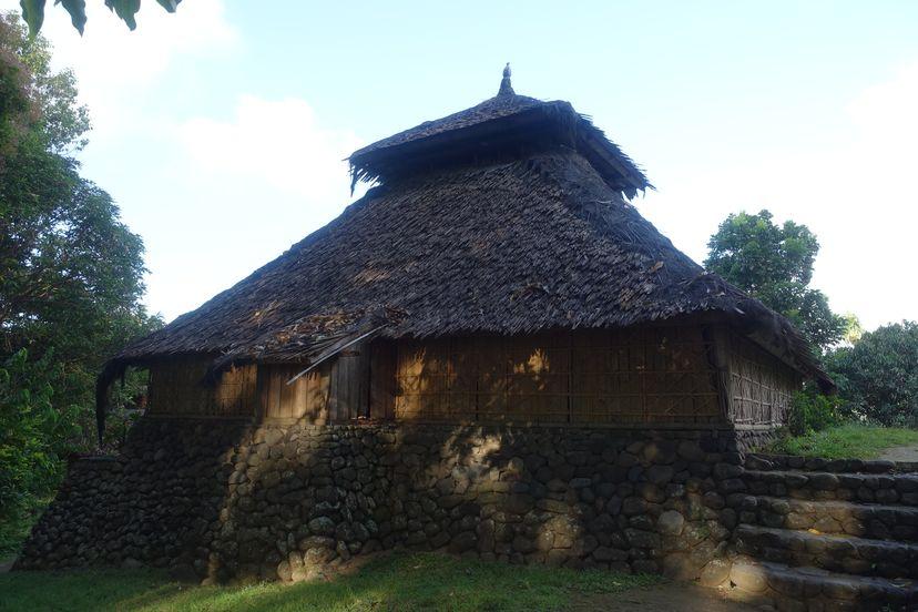 Самая старая мечеть в Индонезии