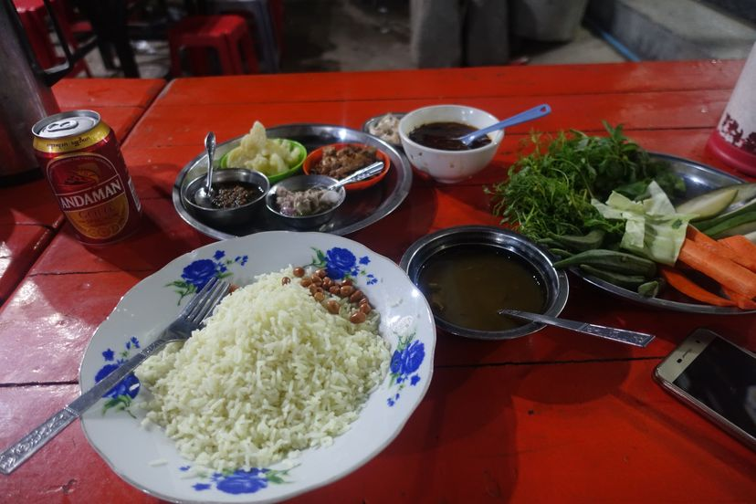 Мандалай еда Мьянма